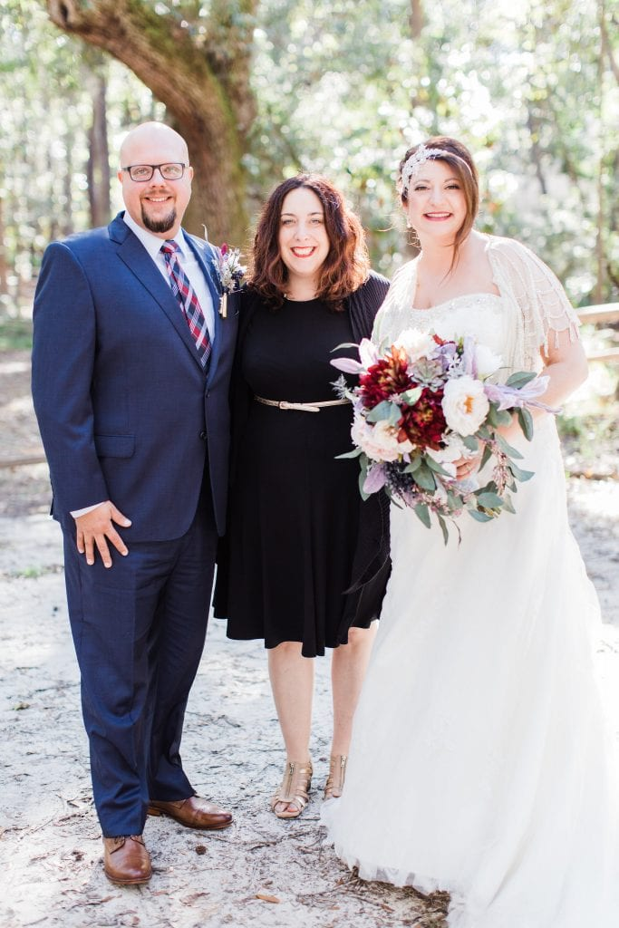 wedding officiant wormsloe