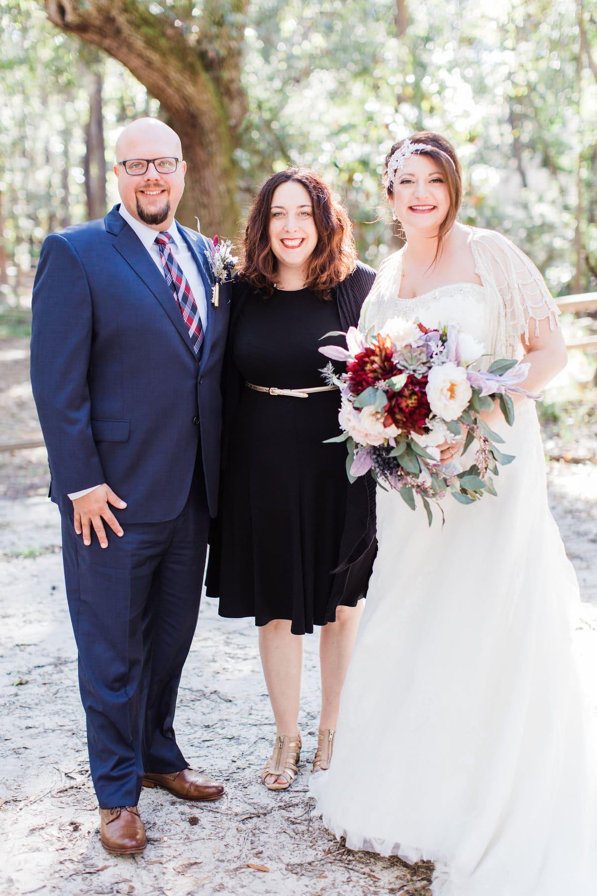 wedding officiant wormsloe