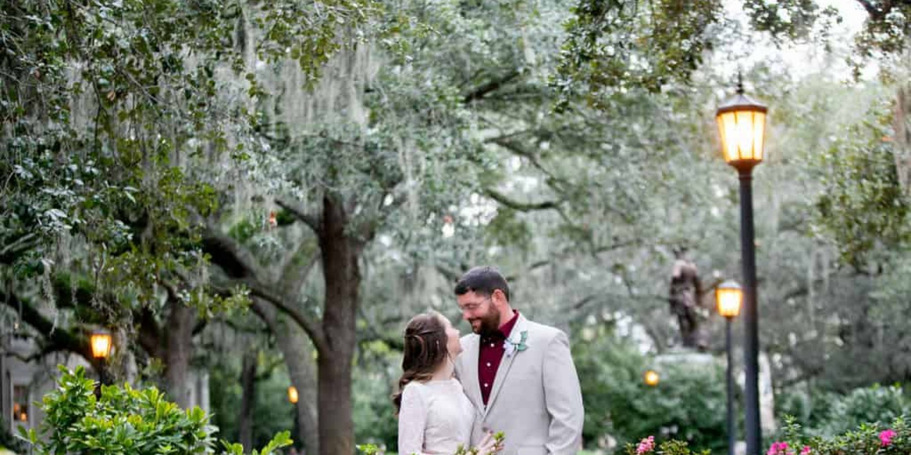 November is a Magical Time to Elope in Savannah