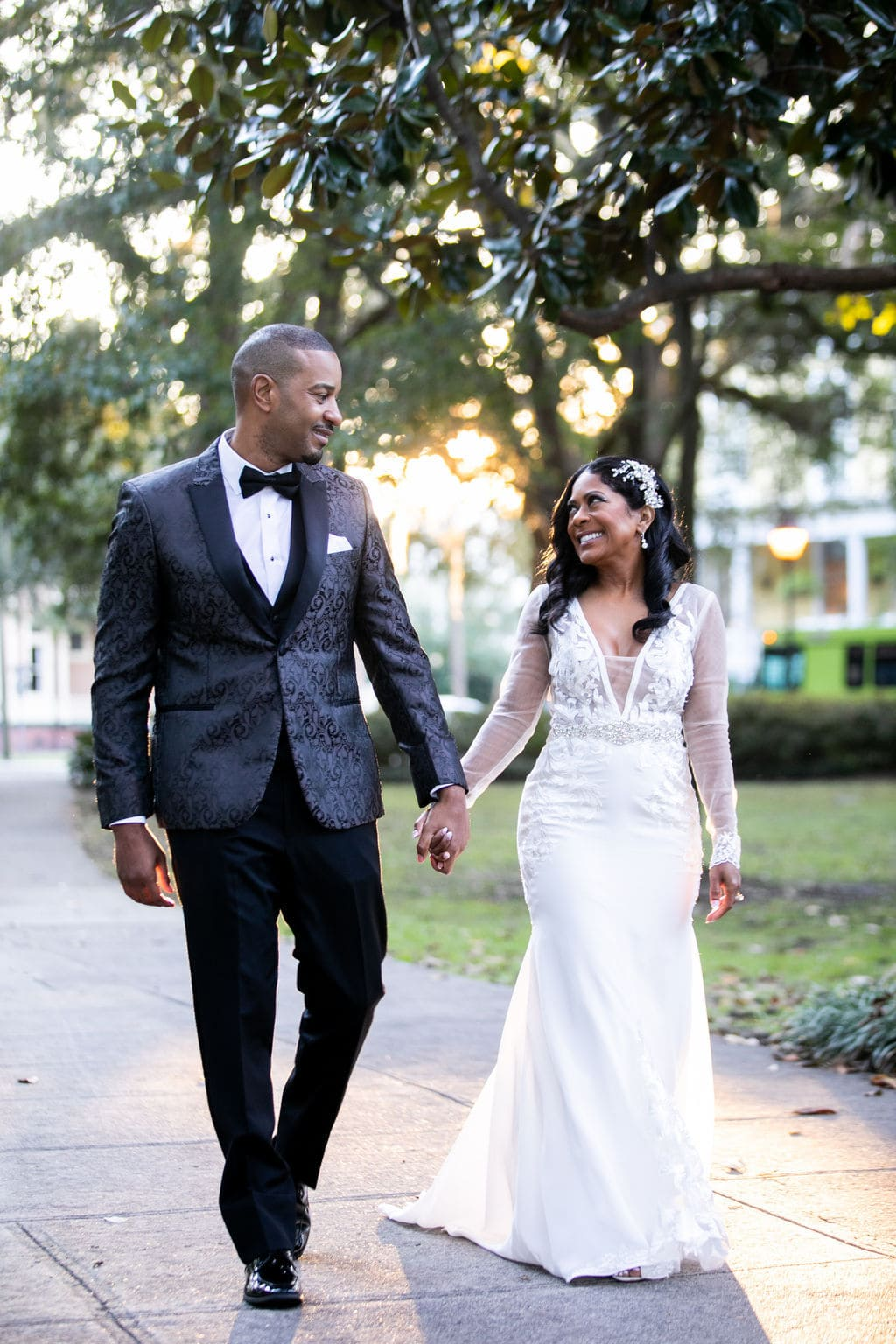 November elopement in Savannah