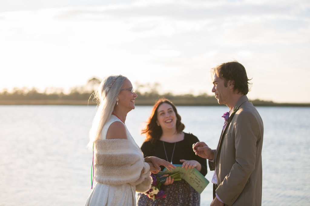 Tybee Island Back Bay Wedding