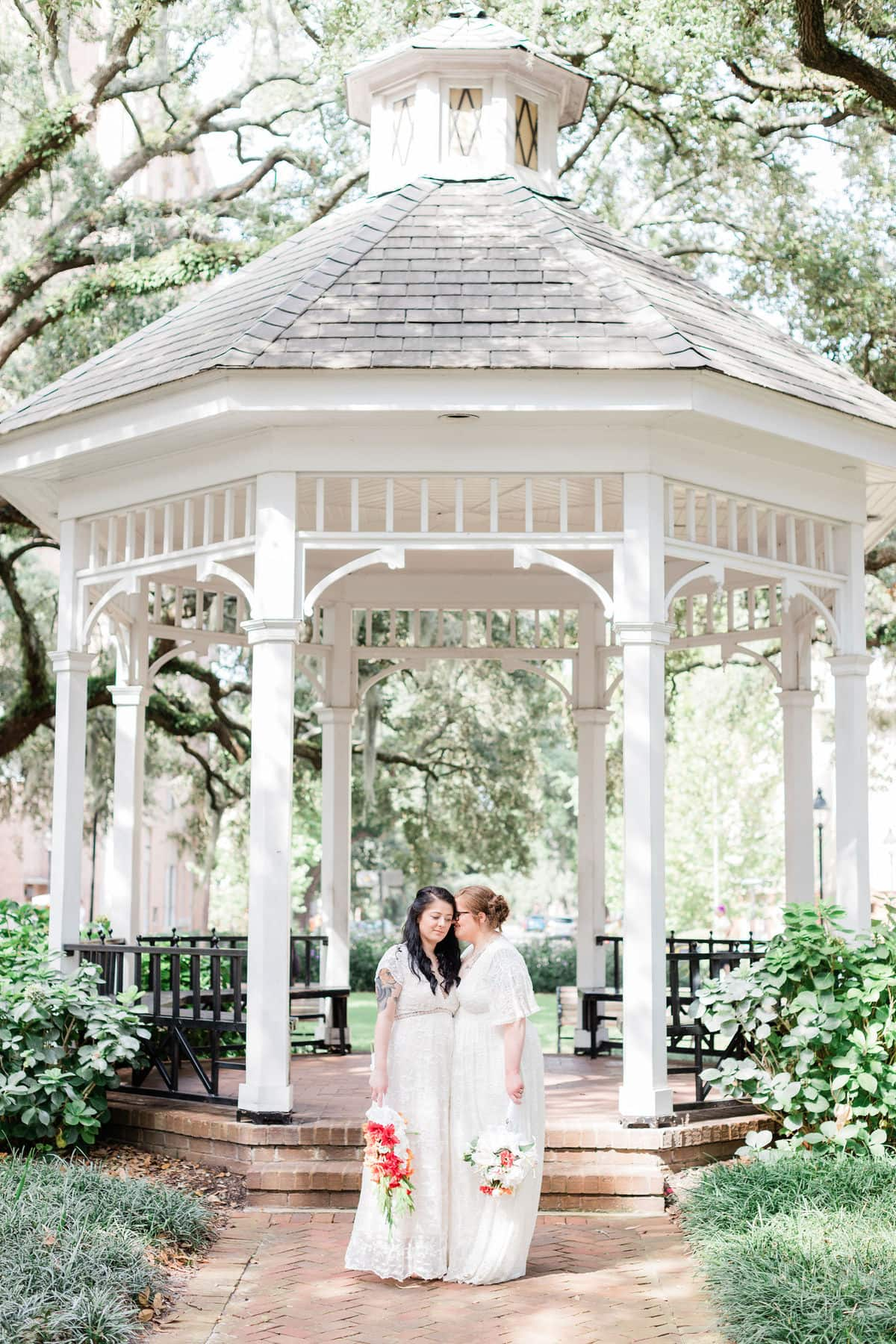 whitefield gazebo elopement photography