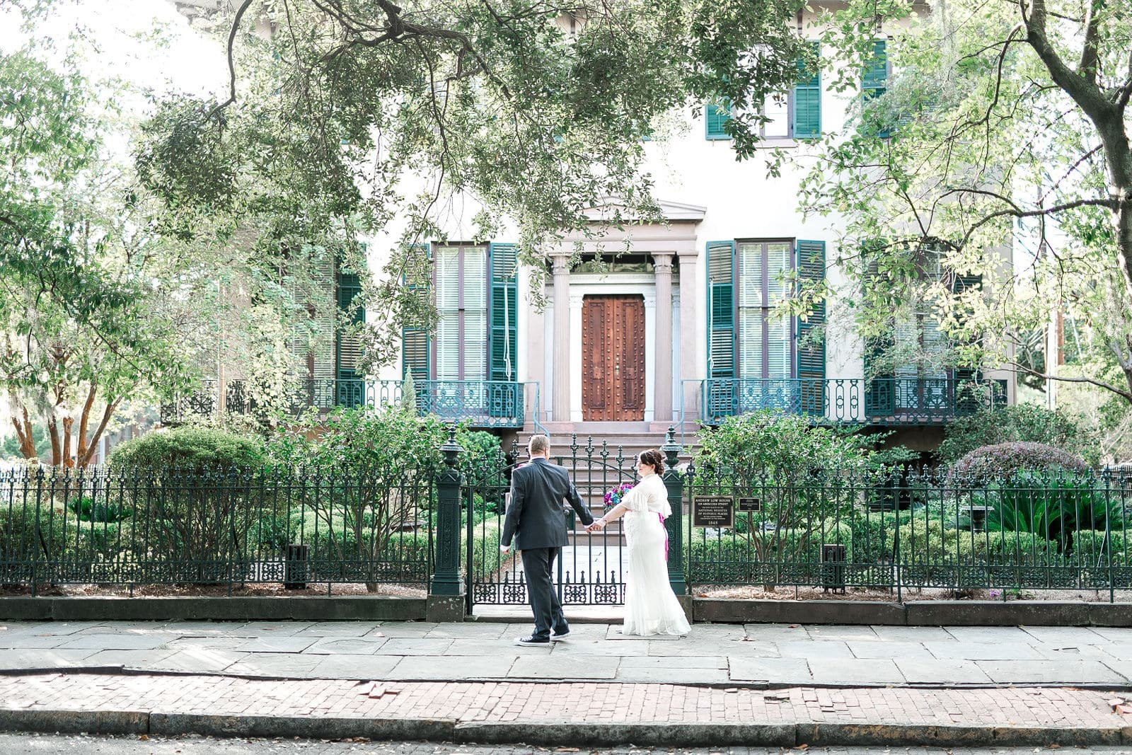 historic savannah elopement